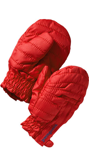 Patagonia Babies Puff Mitts Ramble Red
